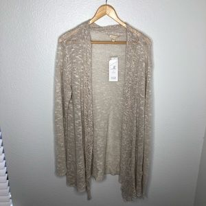 Eileen Fisher Open Front Cardigan Size XL NWT